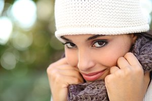 Beautiful arab woman portrait warmly clothed.jpg