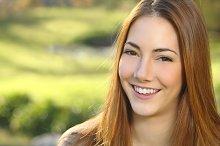 Portrait of a woman white smile dental care.jpg