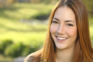 Portrait of a woman white smile dental care.jpg