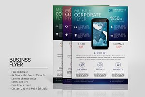 Mobile Promotion Flyer Template