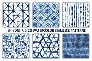 Shibori Seamless Patterns