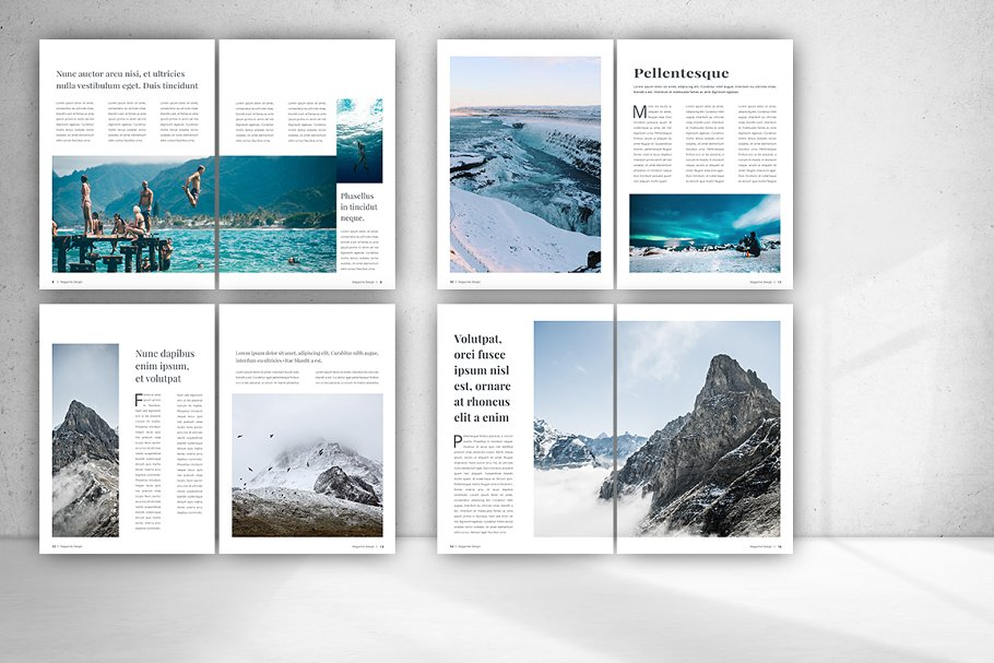 Indesign Magazine in Magazine Templates - product preview 2