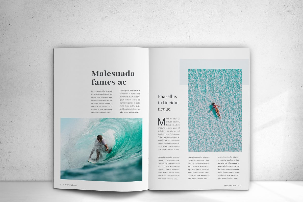 Indesign Magazine in Magazine Templates - product preview 8