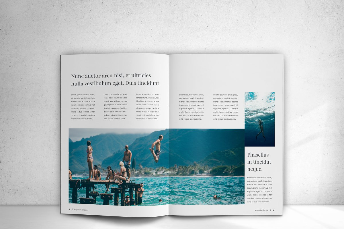 Indesign Magazine in Magazine Templates - product preview 9