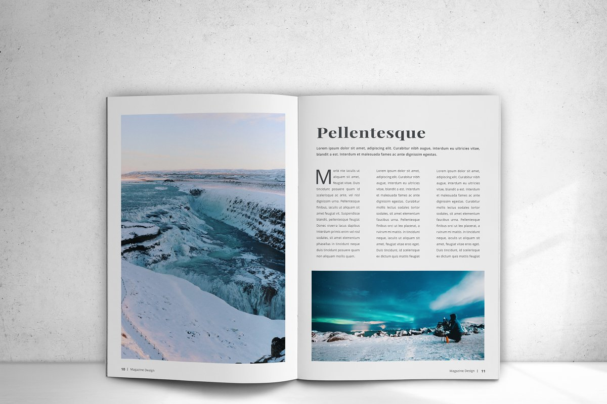Indesign Magazine in Magazine Templates - product preview 10