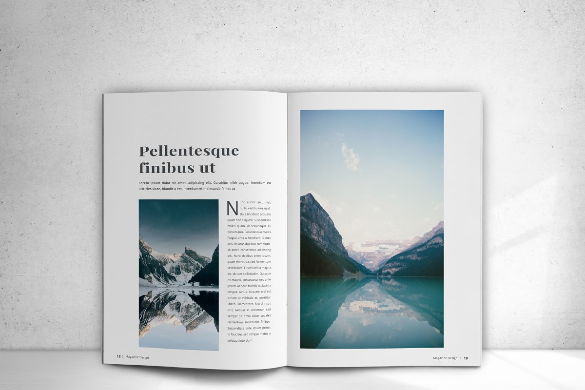 Indesign Magazine in Magazine Templates - product preview 14