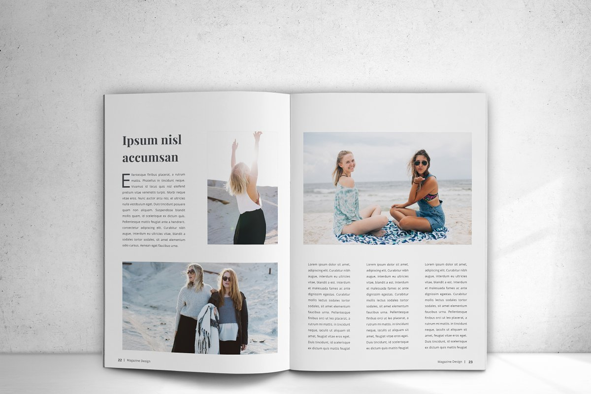 Indesign Magazine in Magazine Templates - product preview 16