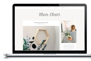 Mon Cheri - A Wordpress Theme