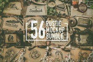 Rustic Mockup Bundle