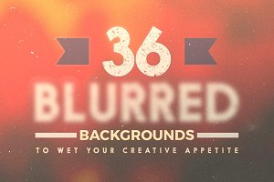 36 Blurred Backgrounds