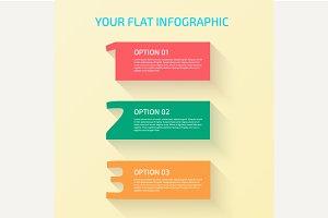 Flat Design Number