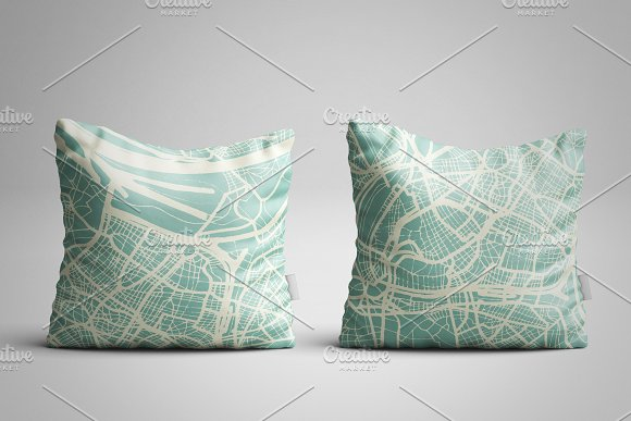 Saint-Etienne France City Map in Illustrations - product preview 3