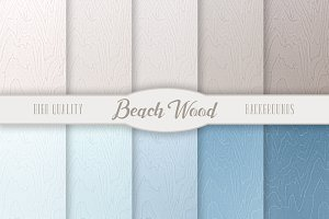 Beach Wood Backgrounds