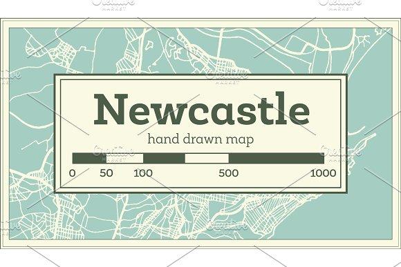 Australia Map Newcastle.Newcastle Australia City Map