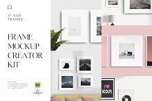 Frame Mockup Creator Kit