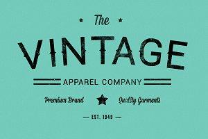 Hammer Font - Vintage Display Font