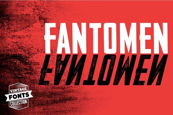Fantomen 2 Vintage Fonts Stunning Display Fonts Creative Market