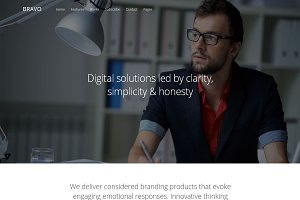 Bravo - Multipurpose HTML Template
