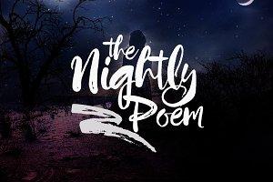 Nightly Poem