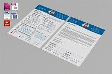 Resume Template & Cover Letter-V07