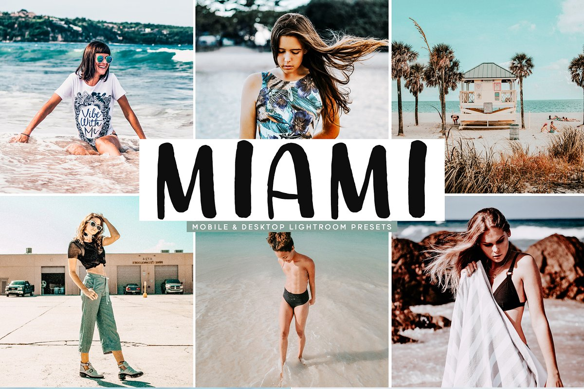 970a9873 Miami Lightroom Presets Pack ~ Photoshop Add-Ons ~ Creative Market