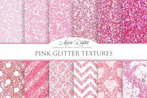 Pink Glitter Textures