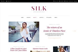 Silk - A Fashion Magazine Theme