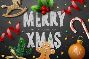 Vector Christmas bundle 2016
