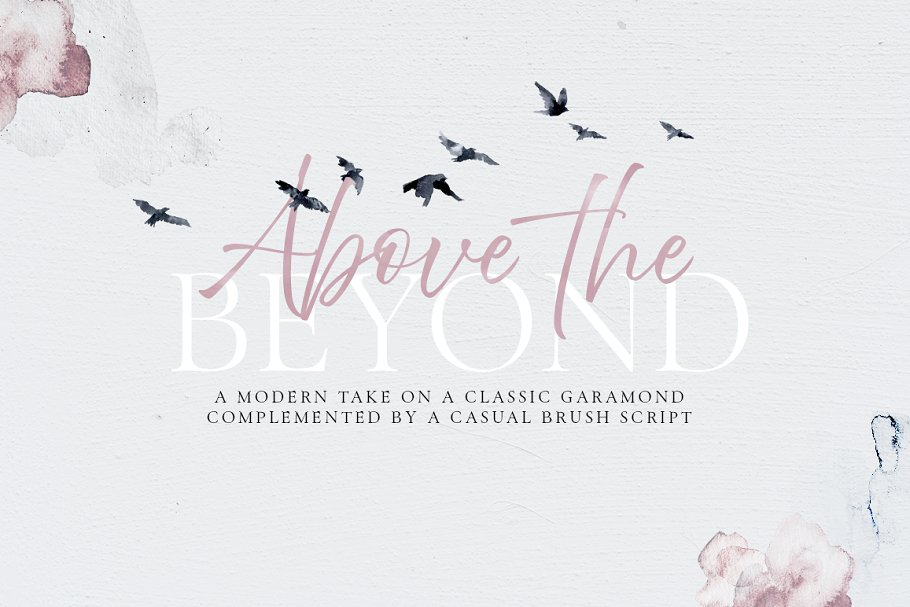 Above the Beyond - 40%off! ~ Fonts ~ Creative Market