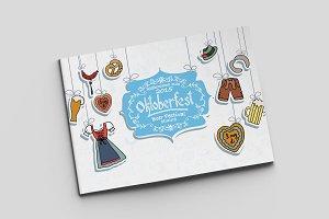 Oktoberfest Card Template