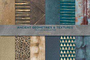 Ancient Geometric Gold & Textures