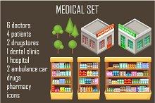 Big medical set.