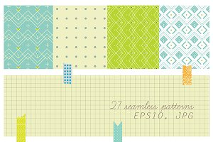 27 seamless patterns