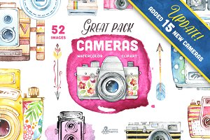 Great Pack! Cameras clipart