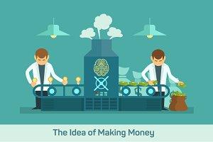 Idea money factory
