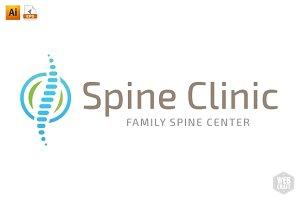 Chiropractic Logo Template 3