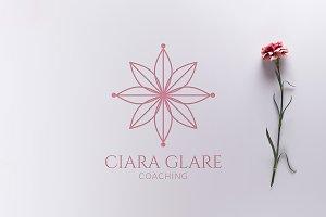 Spiritual Flower Logo - Vector & PNG