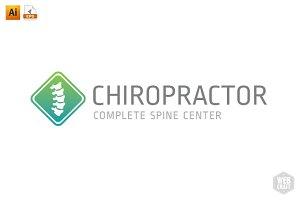 Chiropractic Logo Template 5