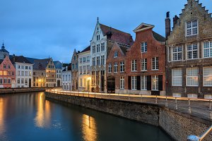 Architecture of old Bruges