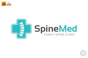 Chiropractic Logo Template 6