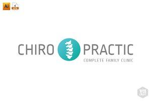 Chiropractic Logo Template 7