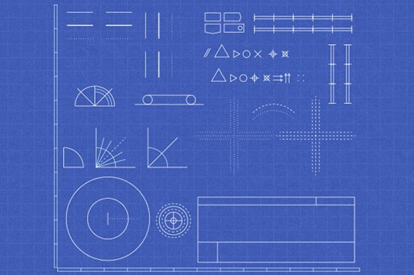 Blueprint mega bundle graphic patterns creative market malvernweather Gallery