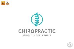 Chiropractic Logo Template 8