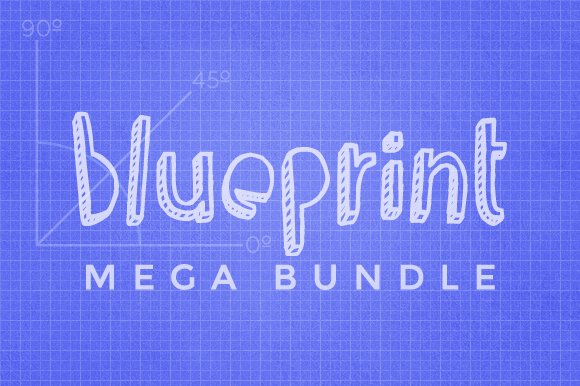 Blueprint mega bundle patterns creative market blueprint mega bundle patterns malvernweather Gallery