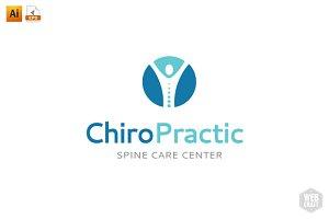 Chiropractic Logo Template 13
