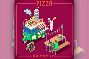 Italian Pizza Food Truck