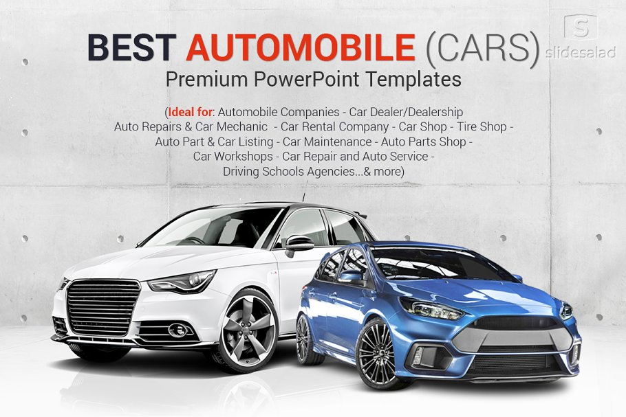 Top Automobile PowerPoint Templates ~ PowerPoint Templates