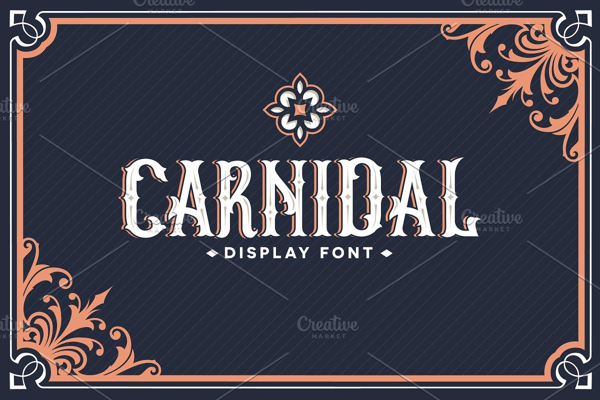 Carnidal Typeface