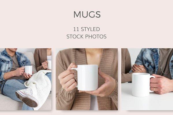 Mugs (11 Styled Images)