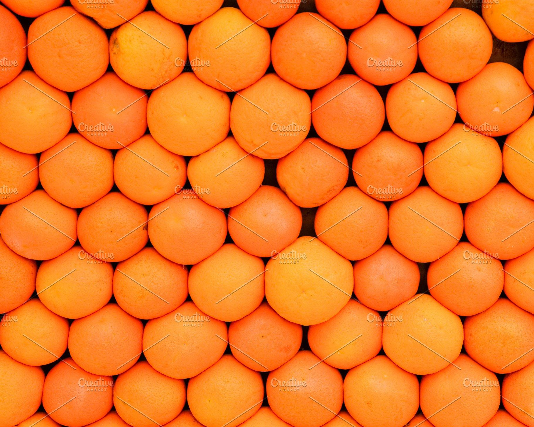 Background Texture Of Orange Fruit